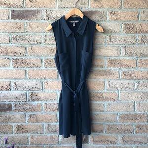 CHARLIE JADE | Black silk button up summer…